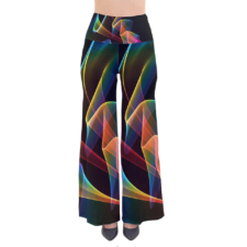 Sold! ❤ Crystal Rainbow Love Palazzo Pants